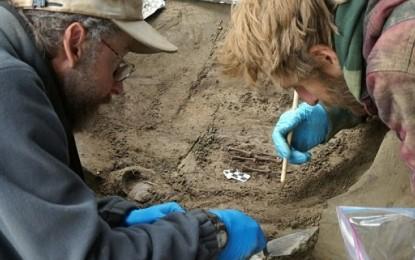 DESCOPERIRE ARHEOLOGICA importanta, veche de 11.500 de ani