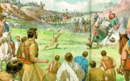 Mitul lui David şi Goliat. Adevărul din spatele legendei.