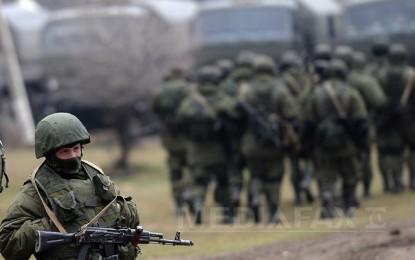Sute de membri ai armatei ruse efectuează exerciţii militare în Transnistria