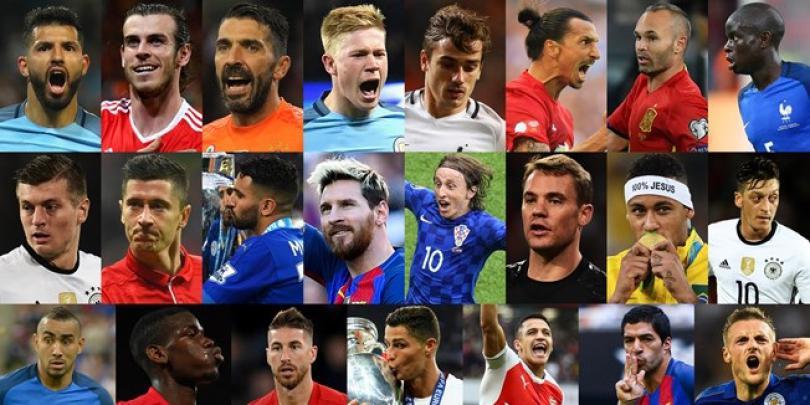 Lista finaliştilor Galei FIFA. Nu lipsesc Messi, Cristiano Ronaldo, Bale şi Neymar