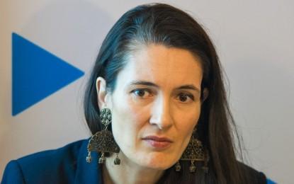 """Gafă a lui Clotilde Armand: regretă că prezenţa la vot nu a fost """"ca pe timpul lui Ceauşescu"""""""