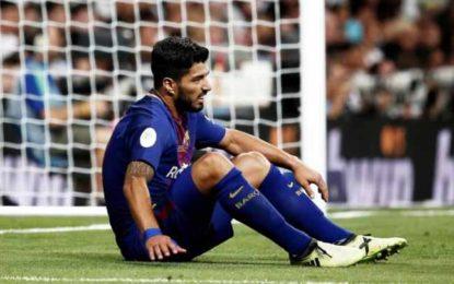 Alarmă la Barcelona: Suarez nu poate scăpa de operație, după afecțiunea apărută în urma ultimului meci cu Real