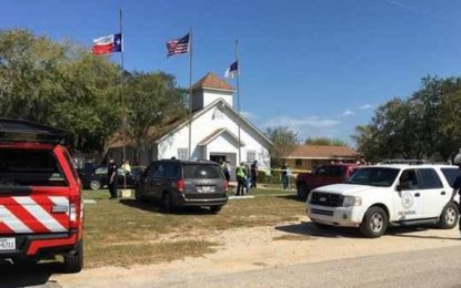 ATAC armat în Texas: Cel puţin 27 de oameni au murit după ce un individ a deschis focul într-o biserică- presă