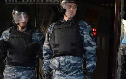 Poliţia a reţinut sute de persoane în Moscova, din cauza temerilor unor atacuri anti-guvernamentale