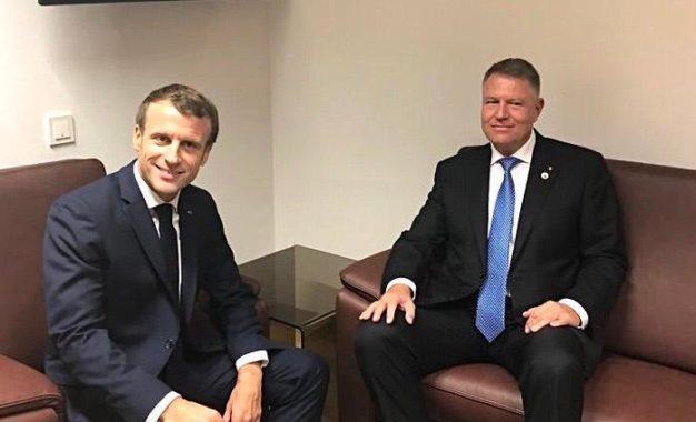 Iohannis îi mulțumește lui Macron pentru numirea fostei șefe a DNA la șefia Parchetului european