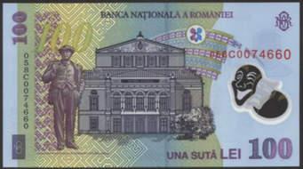 Bancnota de 100 de lei, cea mai falsificată din România Citeşte întreaga ştire: Bancnota de 100 de lei, cea mai falsificată din România