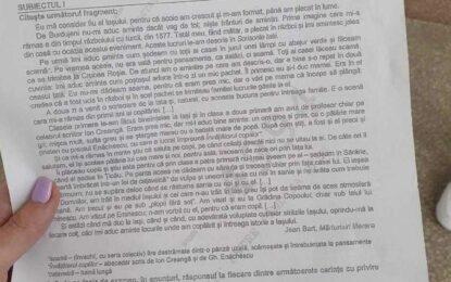 Subiecte Simulare Bac română 2021. Ce a picat la simulare Bac 2021 Citeşte întreaga ştire: Subiecte Simulare Bac română 2021. Ce a picat la simulare Bac 2021