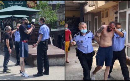 """Polițiști de la Locală umiliți de un tânăr, în plină stradă, la Galați: """"Pac, pac, pac și-am plecat!"""""""