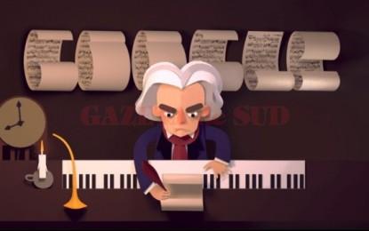 Ludwig van Beethoven, celebrat de google la 245 de ani de la nașterea compozitorului