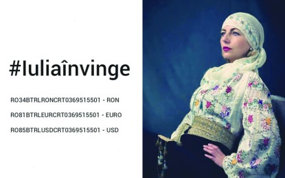 Iulia Gorneanu, ambasadoarea iei romanesti, are nevoie de ajutorul nostru